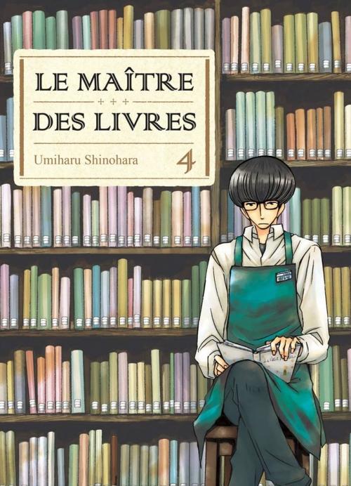 Couverture Le maître des livres, tome 04