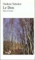Couverture Le Don Editions Folio  1992