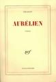 Couverture Aurélien Editions Gallimard  (Blanche) 1944