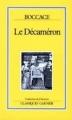 Couverture Décaméron Editions Bordas 1992