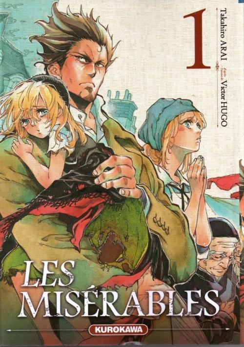 Couverture Les Misérables (manga), tome 1