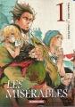 Couverture Les Misérables (manga), tome 1 Editions Kurokawa 2015