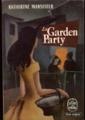 Couverture La Garden-Party et autres nouvelles Editions Le Livre de Poche 1955