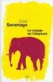 Couverture Le voyage de l'éléphant Editions Seuil (Cadre vert) 2009
