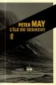 Couverture L'Île du serment Editions du Rouergue (Noir) 2014