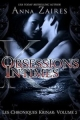 Couverture Les Chroniques Krinar, tome 2 : Obsessions Intimes Editions Mozaika 2014