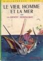 Couverture Le vieil homme et la mer Editions Hachette (Bibliothèque verte) 1966