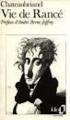 Couverture La Vie de Rancé Editions Folio  1986