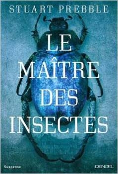 Couverture Le Maître des insectes