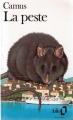 Couverture La Peste Editions Folio  1989