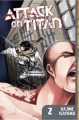 Couverture L'attaque des Titans, tome 02 Editions Kodansha International 2012