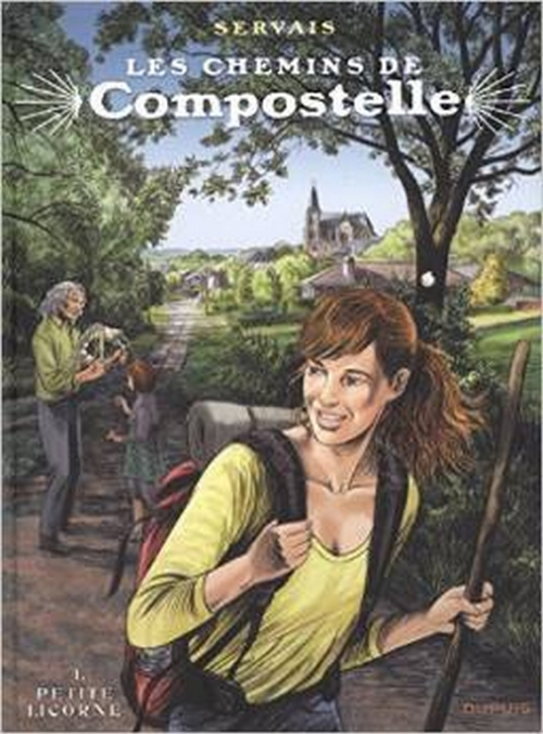 Couverture Les chemins de Compostelle, tome 1 : Petite licorne