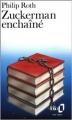 Couverture Zuckerman enchaîné Editions Folio  1987