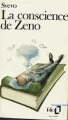 Couverture La conscience de Zeno Editions Folio  1990