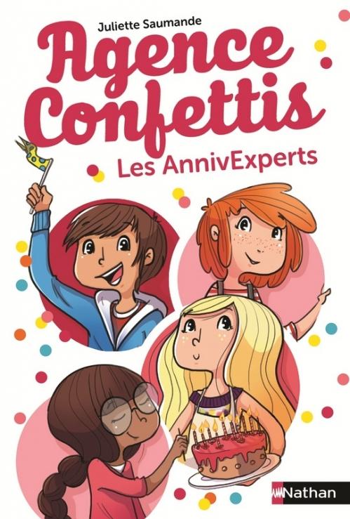 Couverture Agence Confettis, tome 1 : Les AnnivExperts