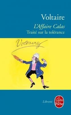 Couverture L'affaire Calas : Traité sur la tolérance
