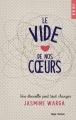 Couverture Le vide de nos coeurs Editions Hugo & cie 2015