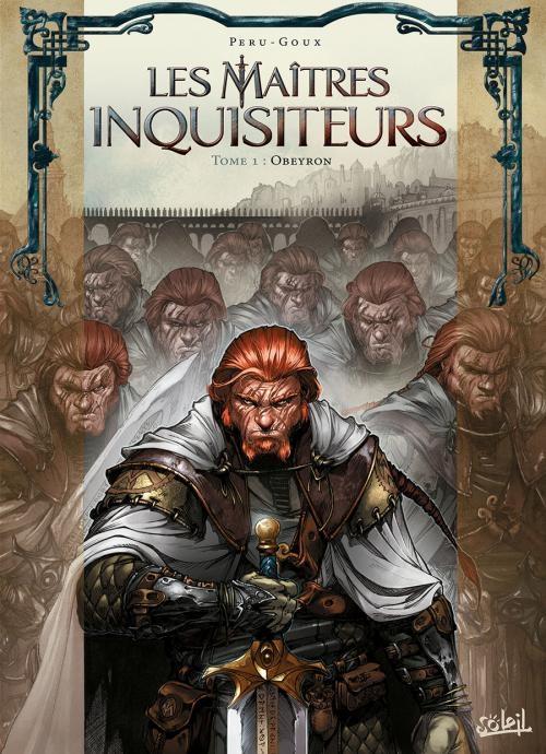 Couverture Les Maîtres Inquisiteurs, tome 1 : Obeyron