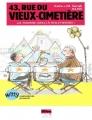 Couverture 43, rue du Vieux-Cimetière, tome 5 : Ça tourne (mal) à Hollywood! Editions Albin Michel (Jeunesse - Witty) 2014