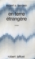 Couverture En terre étrangère Editions Robert Laffont 1970