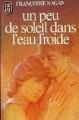 Couverture Un peu de soleil dans l'eau froide Editions Flammarion 1969