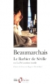 Couverture Le barbier de Séville Editions Folio  (Théâtre) 1996