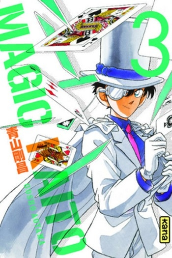 Couverture Magic Kaito, tome 3