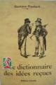 Couverture Dictionnaire des idées reçues Editions Arcadia  1996