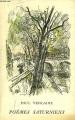 Couverture Poèmes saturniens Editions Bibliothèque de Cluny 1951