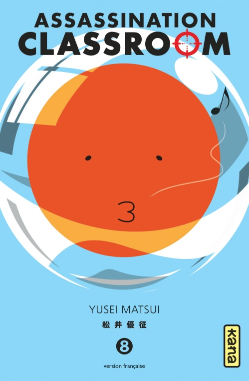 Couverture Assassination Classroom, tome 08