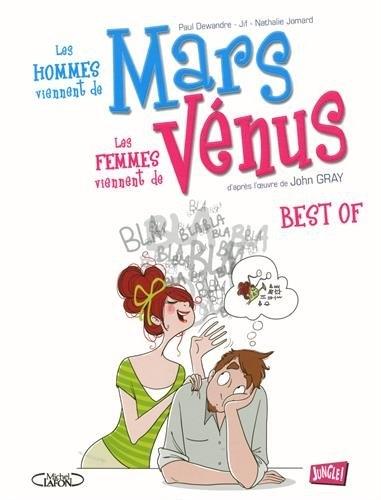 Couverture Les hommes viennent de Mars les femmes viennent de Vénus : Best of
