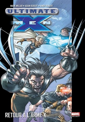 Couverture Ultimate X-Men, tome 01 : L'homme de demain
