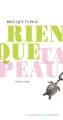 Couverture Rien que ta peau Editions Actes Sud (Junior - D'une seule voix) 2014