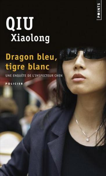 Couverture Dragon bleu, tigre blanc