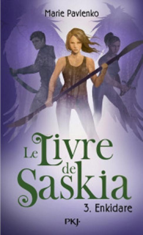 Couverture Le livre de Saskia, tome 3 : Enkidare
