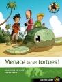 Couverture Les Sauvenature, tome 2 : Menace sur les tortues ! Editions Flammarion (Castor - Cadet) 2006
