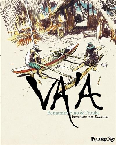 Couverture Va'a : une saison aux Tuamotu