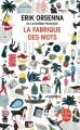 Couverture La fabrique des mots Editions Le Livre de Poche 2015