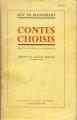 Couverture Contes choisis Editions Albin Michel 1956
