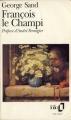 Couverture François le Champi Editions Folio  1993