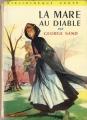Couverture La mare au diable Editions Hachette (Bibliothèque verte) 1958