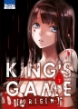 Couverture King's Game Origin, tome 2 Editions Ki-oon (Seinen) 2015