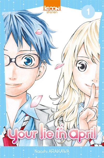 Couverture Your lie in april, tome 01