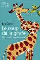 Couverture Le coup de la girafe Editions Seuil 2015