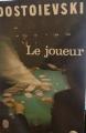 Couverture Le joueur Editions Le Livre de Poche 1972