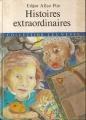 Couverture Histoires extraordinaires Editions d'Antan 1982