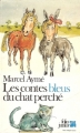 Couverture Les contes bleus du chat perché Editions Folio  (Junior) 1980