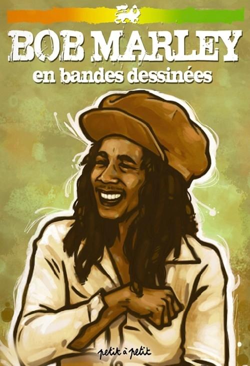 Couverture Bob Marley en bandes dessinées