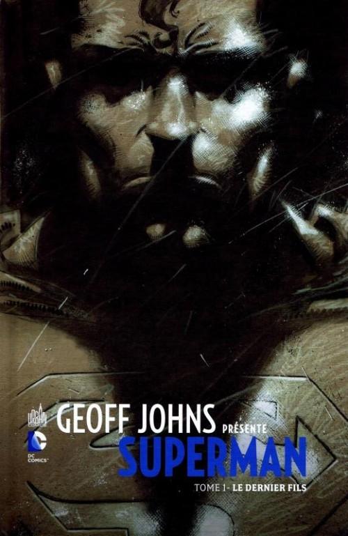 Couverture Geoff Johns présente Superman, tome 1 : Le Dernier Fils
