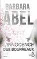 Couverture L'innocence des bourreaux Editions Belfond (Thriller) 2015